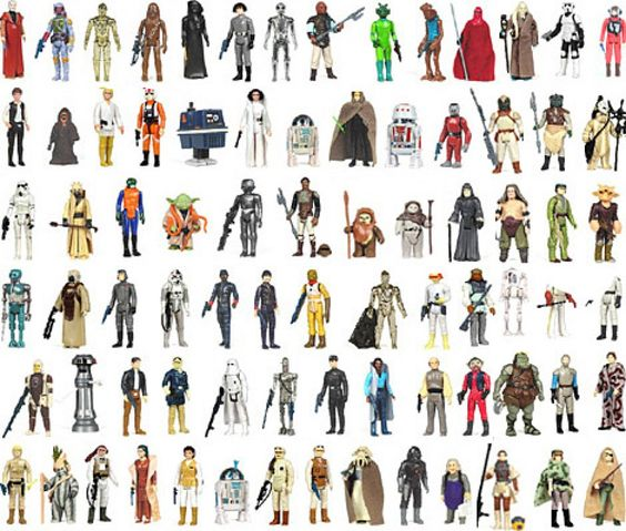 Complete Vintage Star Wars Action Figure Collection: Find it here tinyurl.com/8ytnbce  #Star_Wars #Action_Figures #Toys