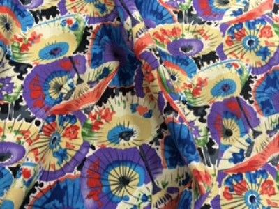 Cotton and Spandex Parasol Fabric