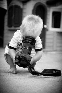 Photographie noir et blanc amusante:
