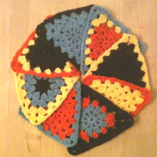 Neat little triangles for a bunting.