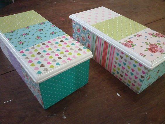 Cajas de madera decoradas con decoupage cajas - Cajas de maderas ...