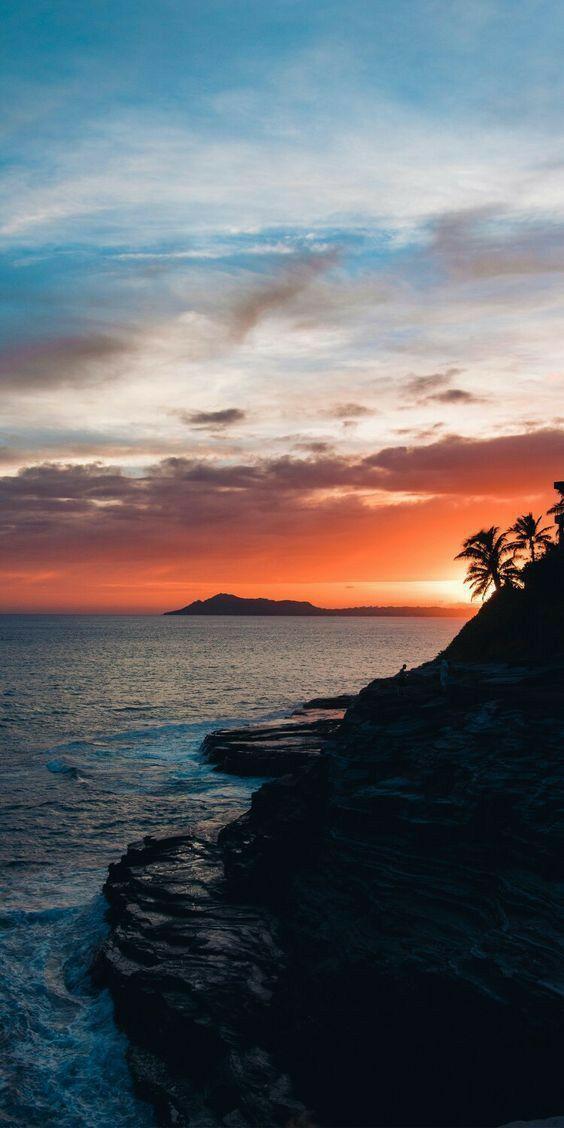 Pin On Beach Sunset Wallpaper