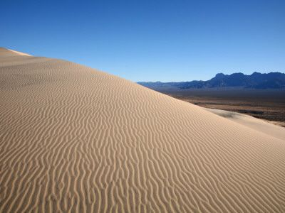 Kelso Dunes in Mojave National Preserve, southern CA