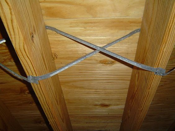 In order to stiffen up a floor and prevent floor joists for Wood floor joist bridging