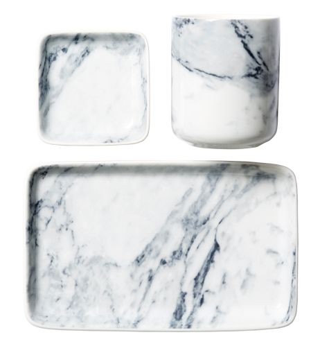 marble plates from HM Home Autumn -14.