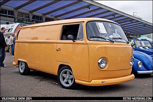 Custom VW Type 2 Bay Window Panel Van