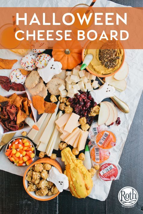 How To Make A Fun Halloween Cheese Board Halloween Appetizers