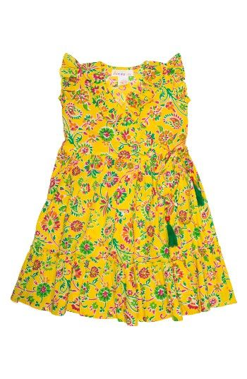 Free shipping and returns on Masalababy Ayla Floral Wrap Dress (Toddler Girls, Little Girls & Big Girls) at Nordstrom.com. She'll be ready for warmer weather in this vibrantly patterned dress in a cute wrap silhouette with ruffled trim.