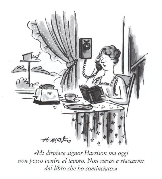 Qualcuno di voi si è mai dato malato per poter stare a casa a leggere? Il Lettore Forte non potrebbe biasimarvi.