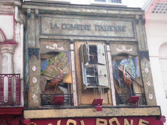 14th arrondissement - La Comédie Italienne, rue de la Gaîté.  I like it!