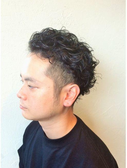 ツーブロック メンズパーマ L001177722 プント Puntto のヘア