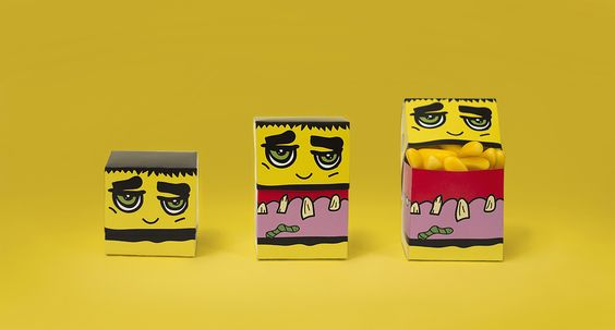MONSTER CANDY — The Dieline