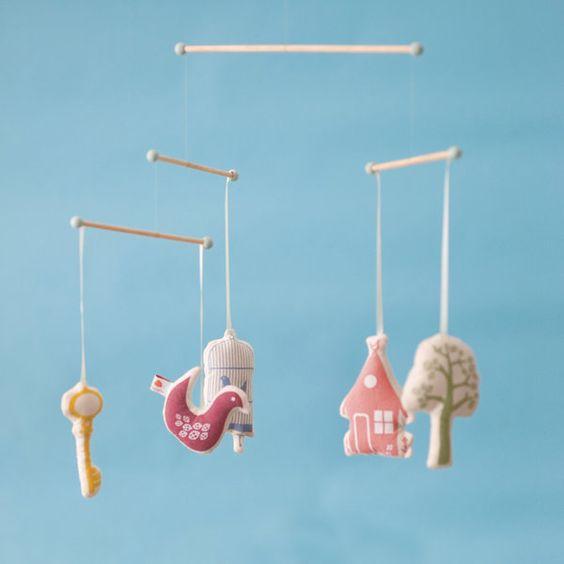 ferm living mobile: Baby Mobiles, Kidsroom, Nursery Ideas, Baby S Room, Baby Room, Craft Ideas, Kids Rooms