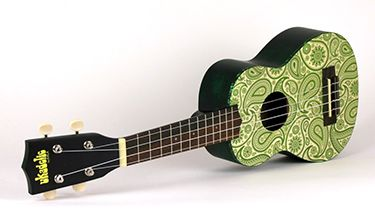 Paisley ukulele. Just try to be unhappy with one of these in your hands.