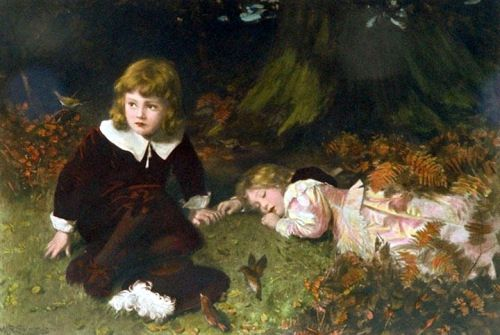 """""""BABES IN THE WOOD"""" By: WILLIAM ROBERT SYMONDS"""