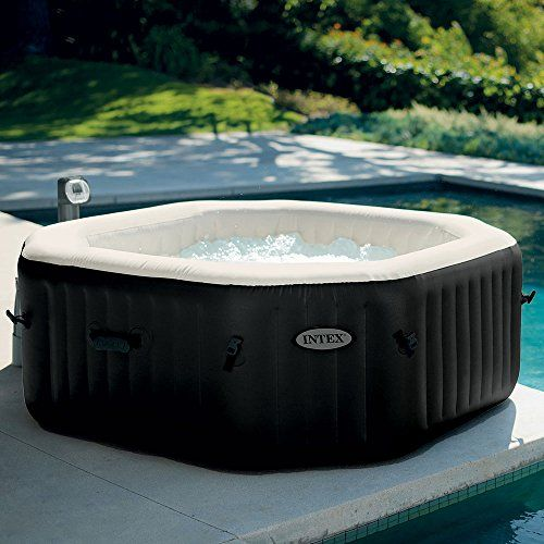 Intex Pure Spa 4 Places Octogonal Bulles Jets Ecosterilisateur Spa Gonflable Spa Gonflable Intex Spa Intex