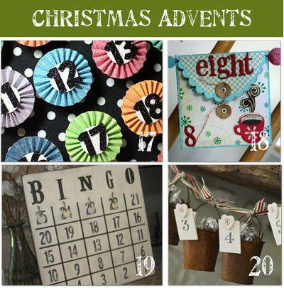 Links to multiple Christmas Advent Calendars