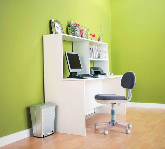 inspirarte con el color verde en tus paredes