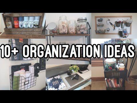 10 Craft Room Organization Ideas Craft Room Organization Organize My Craft Room Youtube In 2020 Craft Room Organization Craft Room Fun Organization