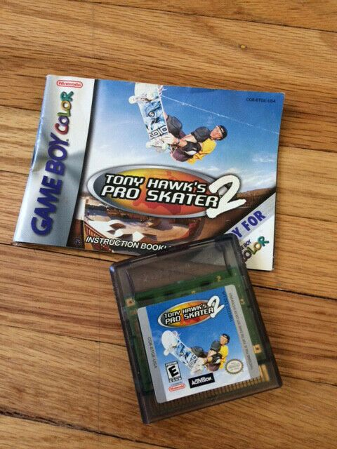 Tony Hawk S Pro Skater 2 Nintendo Game Boy Color 2000 Nintendoswitch Nintendo Switch Tony Hawk Pro Skater Pro Skaters Gameboy