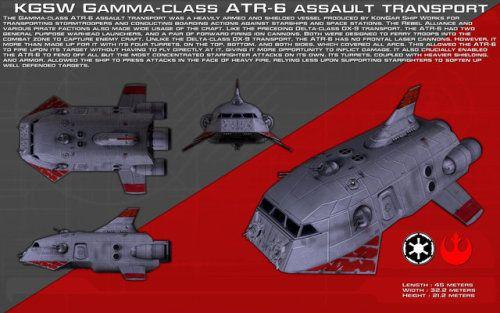 Gamma Class Atr 6 Assault Transport Ortho New By Unusualsuspex