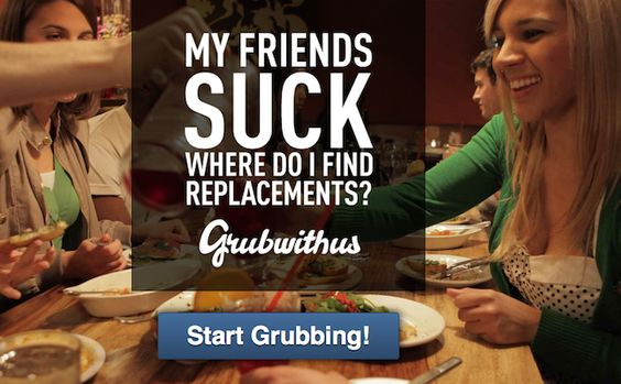 Join the New Social Network Grubwithus and Make Friends Over a Meal