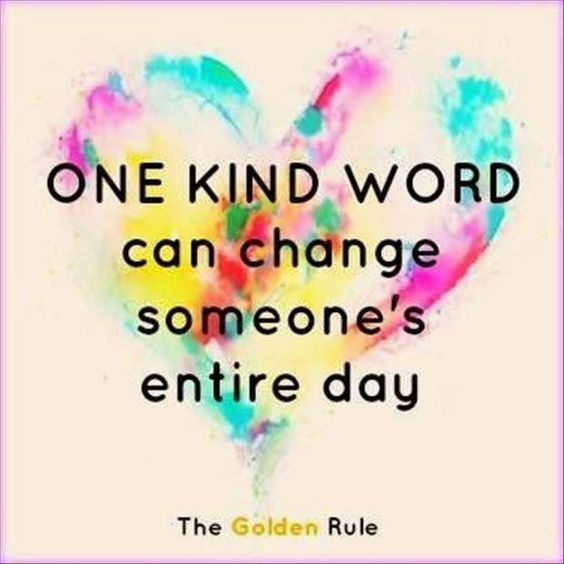 One kind word can change someone's entire day. (or week or LIFE!) #kindnessrocks #kindness #wordstoliveby #artwork