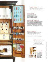 Rangement mat riel couture 2 atelier bureau for Rangement materiel couture