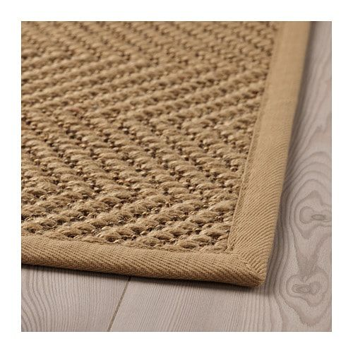 Hellested Rug Flatwoven Natural Brown 2 7 X4 11 Ikea Flatwoven Rugs On Carpet Rug Texture