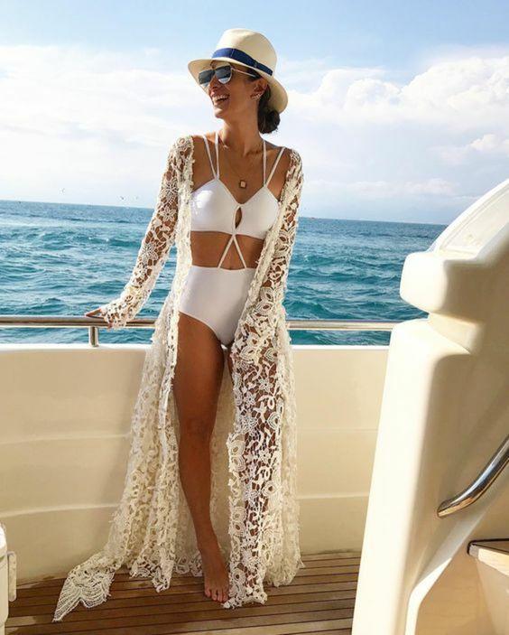 Idée comment s habiller plage maillot de bain pour femme belle maillot blanc