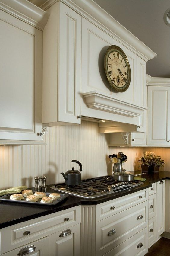 25+ Attractively Chic Kitchen Beadboard Backsplash Inspirations | DivesAndDollar.com