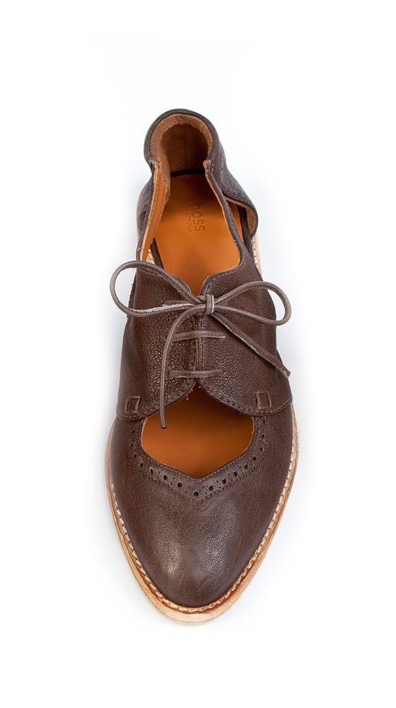 {Summer Oxford} by HOSS Intropia - I never tire of a cutout oxford! :)