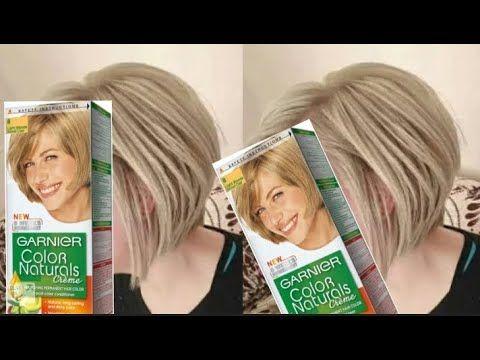 اصبغي شعرك اشقرفاتح ميلونج بصبغة واحدة غارنييه Youtube