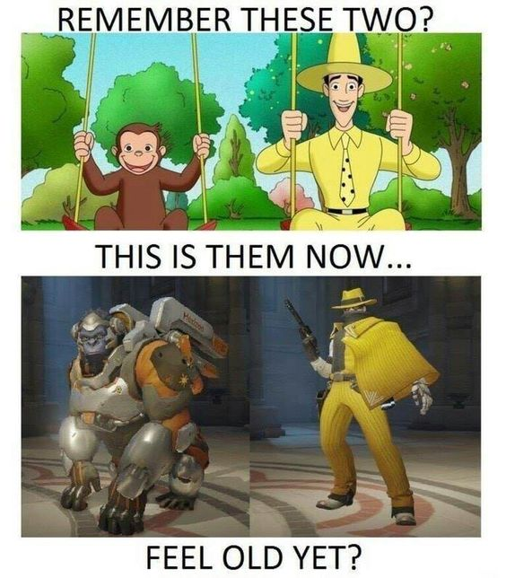 Don't Disrespect The Man In The Yellow Hat