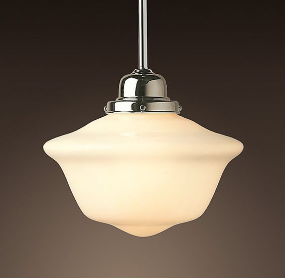 Schoolhouse Pendant restoration hardware For the Home