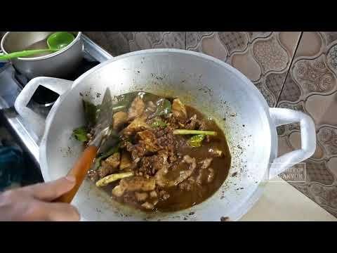 Cara Membuat Brongkos Daging Yang Enak Youtube Makanan Daging Makanan Dan Minuman