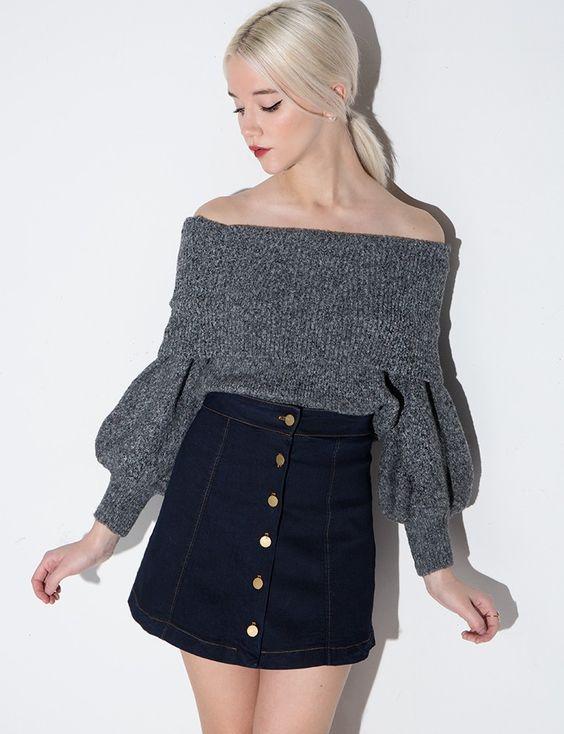 Off The Shoulder top #fashion #pixiemarket: