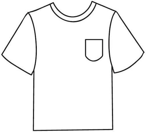 Camiseta Plantilla Dibujalia Dibujos Para Colorear Elementos Y Objetos Del Entorno Vestuario Camis Futbol Para Colorear Prendas De Vestir Ropa Dibujo