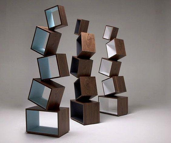 Malagana Design ┃ Equilibrium Bookcase