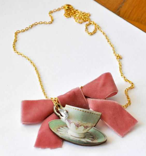 6 o'clock tea by NataliesWunderland on Etsy, $22.00