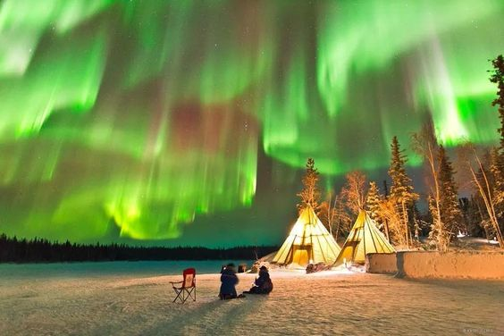 Northern Lights, North Pole