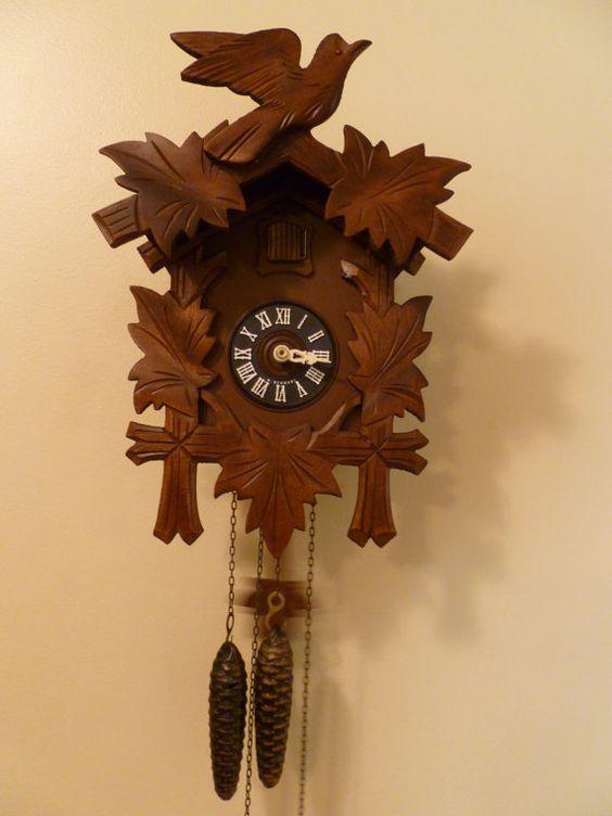Vintage 1984 Cuckoo Clock by LoLovesVintage on Etsy,