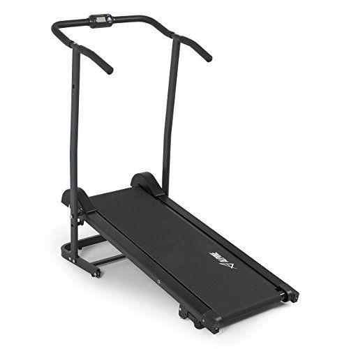Alpine Fitness Magnetic Manual Tread Cardio At Home Running Machines Treadmill