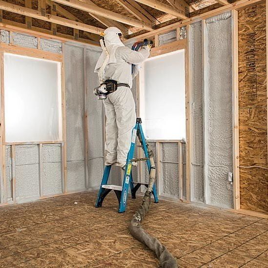 We Use The Highest Quality Closed Cell Spray Polyurethane Foam Available Our Spray Foam Insulati Polyurethane Spray Foam Foam Insulation Spray Foam Insulation