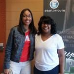Baylor Basketball (bayloryouth) on Twitter. Ole Miss Coach Tia Dillard at a Baylor recruiting event.