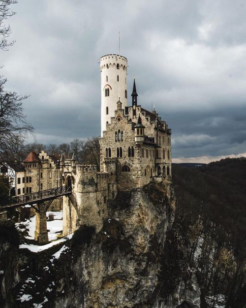 tannerwendell:  lichtenstein castle. germany. Thanks again @moners_ for showing me around Germany! (at Lichtenstein Castle)