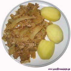 Schichtkohl mit Gehacktem unser Schichtkohl mit Gehacktem ist ein schönes Mittagessen - preiswert, einfach, lecker  laktosefrei glutenfrei