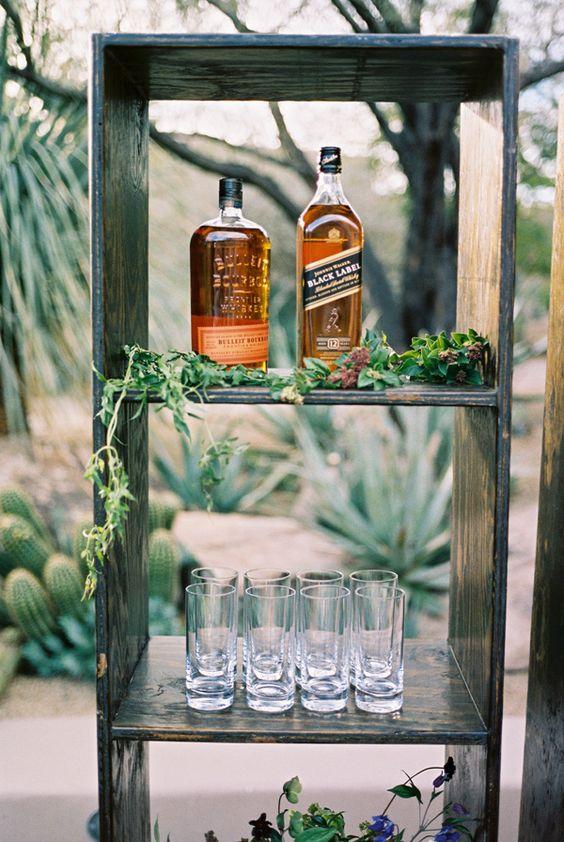 Ruffled - photo by Brushfire Photography http://ruffledblog.com/masculine-edgy-wedding-inspiration
