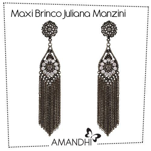 Maxi Brinco com Franjas Juliana Manzini | Amandhí | www.amandhi.com |