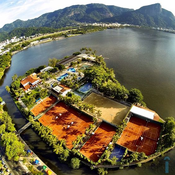 Clube Caiçaras   Lagoa, Rio de Janeiro #imagensarriba
